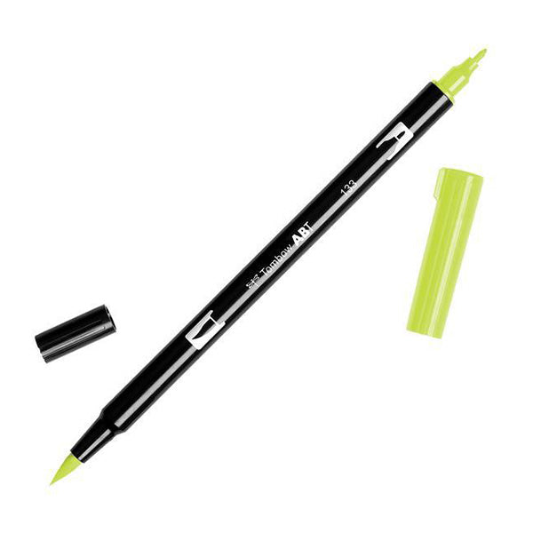 Tombow ABT Dual Brush Pen - Green Color Range 1 (098 - 195)