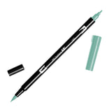 Tombow Dual Brush Pen - Green Color Range 1 (098 - 195) - Brush Pens - bunbougu.com.au