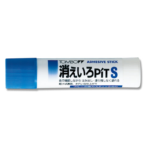 Tombow Pit S Adhesive Stick- Color indication - Glue - bunbougu.com.au