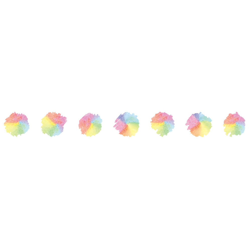 Plus Petit Deco Rush Decoration Tape - Color spot - 6 mm - Decoration Tape - bunbougu.com.au