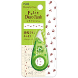 Plus Petit Deco Rush Super thin Decoration Tape - Dog Palm - 4.2 mm - Decoration Tape - bunbougu.com.au