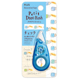 Plus Petit Deco Rush Decoration Tape - Check - 6 mm - Decoration Tapes - bunbougu.com.au