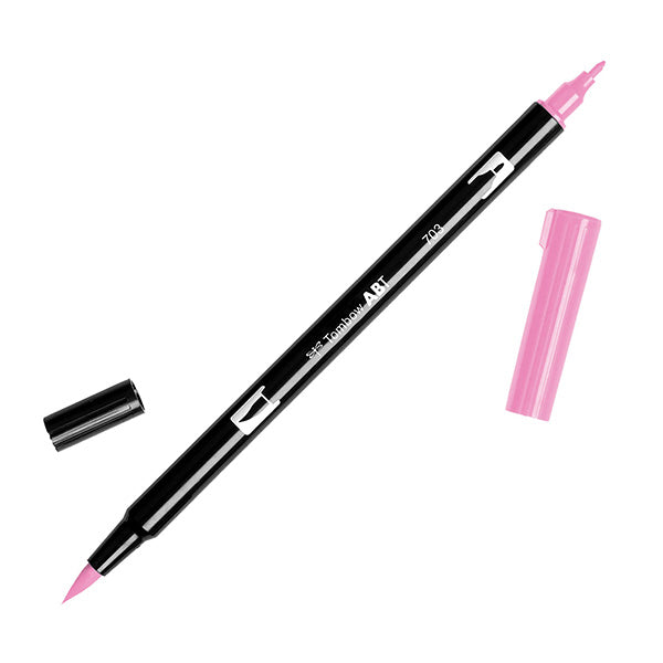 Tombow Dual Brush Pen - Pink Color Range (703 - 772)