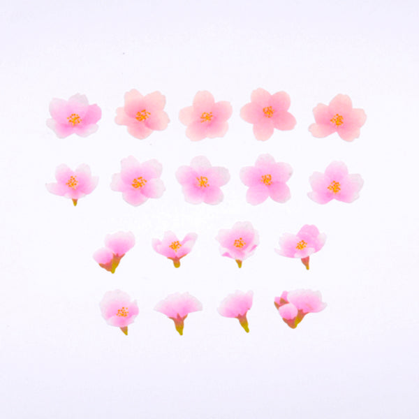 Bande DIY Masking Tape Flowers Stickers - Yoshino Somei