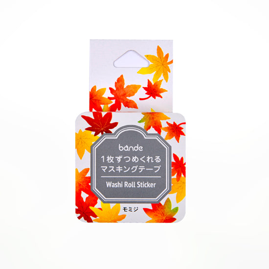 Bande DIY Masking Tape Stickers - Autumn Leaves