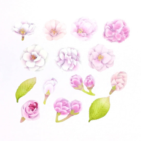 Bande DIY Masking Tape Stickers - Cherry Blossoms