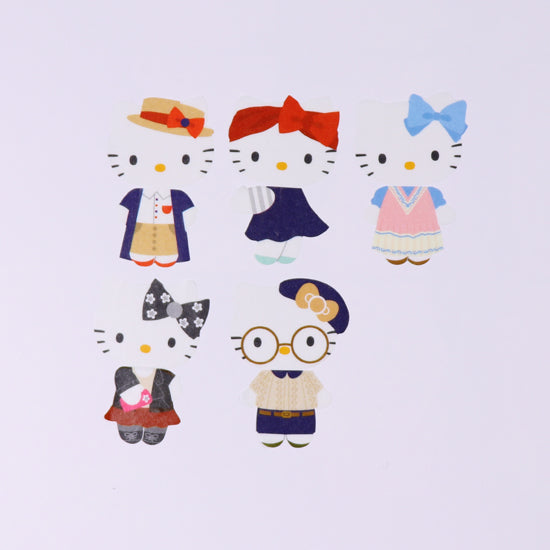 Bande Sanrio DIY Masking Tape Stickers - Modern Kitty