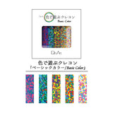 Des Art Crayon Panache 5 Colour Set - Basic Colour - Crayons - bunbougu.com.au