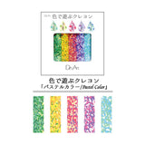 Des Art Crayon Panache 5 Colour Set - Pastel Colour - Crayons - bunbougu.com.au