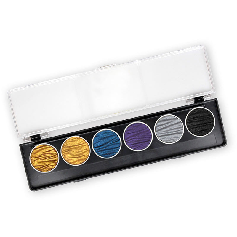 Finetec Coliro Watercolor - Pharao - 6 Color Set