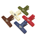Hightide Penco Clampy Bullet Journal Binding Plastic Clip - Khaki - Clips - bunbougu.com.au