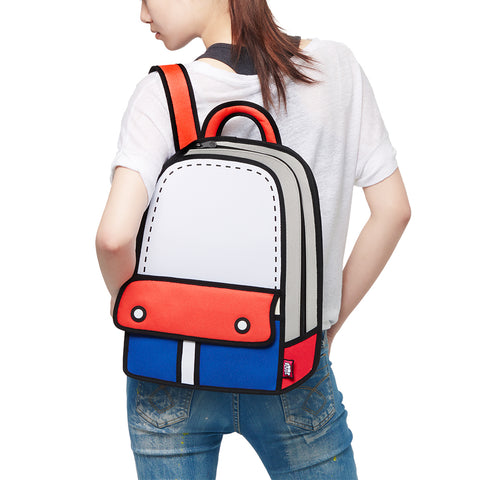 Jump From Paper Adventure Backpack - Red
