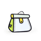 Jump From Paper Metal Chain Cake Bag - Lemon Yellow