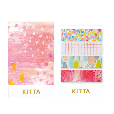 King Jim Kitta Washi Masking Tape - Clear Type - Drop