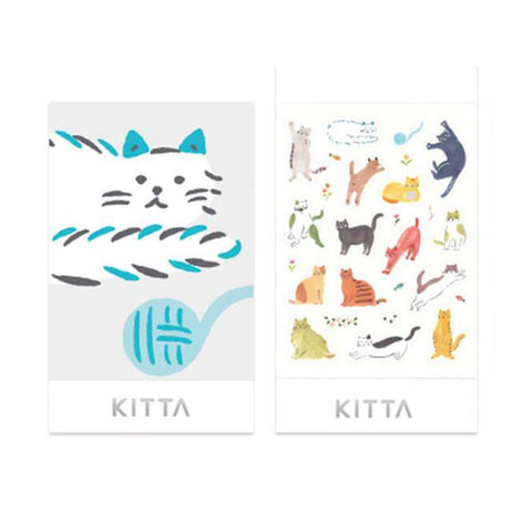King Jim Kitta Seal Sticker - Cat