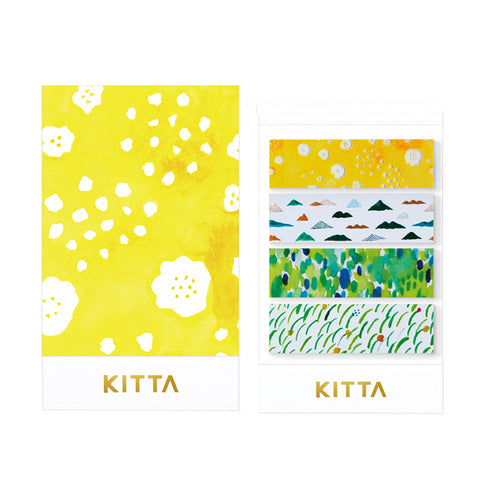 King Jim Kitta Washi Masking Tape - Clear Type - Mountain Belt
