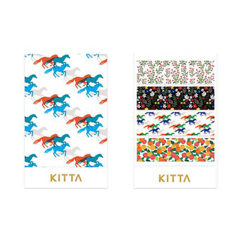 King Jim Kitta Washi Masking Tape - Pattern