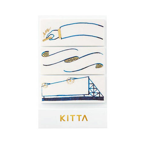 King Jim Kitta Washi Masking Tape - Wide Type - Frame