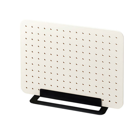 King Jim Peggy Standing Pegboard Shelf System - Off White - Small Storage & Organisers - bunbougu.com.au
