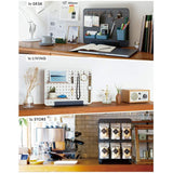 King Jim Peggy Standing Pegboard Shelf System Accessories - Wood Mini Shelf - Small Storage & Organisers - bunbougu.com.au