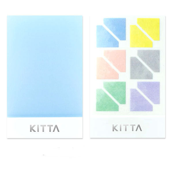 King Jim Kitta Photo Corner Sticker -  Pastel Colors - Photo Corner Sticker - bunbougu.com.au