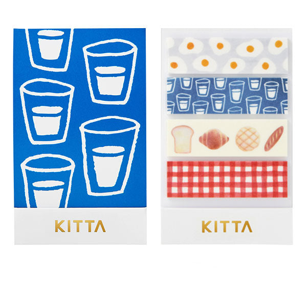 King Jim Kitta Washi Masking Tape - Breakfast - Washi Tape - bunbougu.com.au
