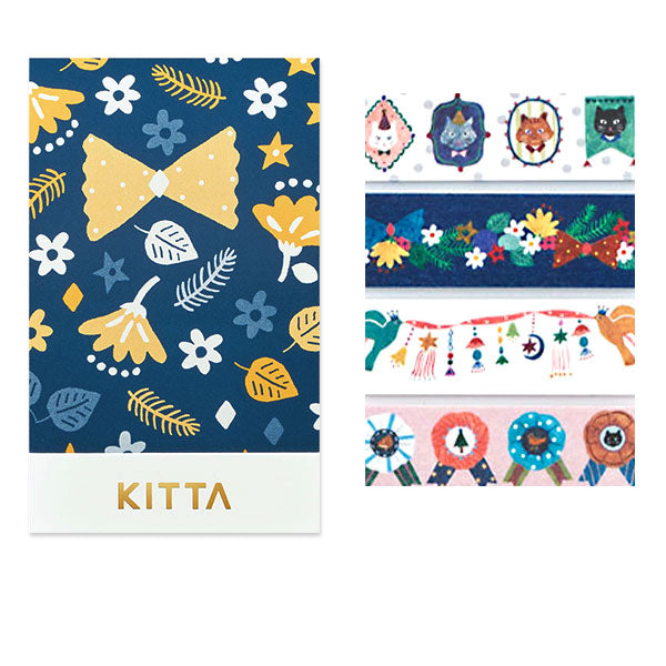 King Jim Kitta Washi Masking Tape - Decoration