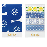 King Jim Kitta Washi Masking Tape - Flower 1 - Washi Tape - bunbougu.com.au