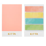 King Jim Kitta Washi Masking Tape - Pastel Color - Washi Tapes - bunbougu.com.au