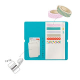 King Jim Seal Collection Book for Washi Tape - Cream - Small Storage & Organisers - bunbougu.com.au