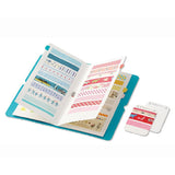 King Jim Seal Collection Book for Washi Tape - Green - Organizers - bunbougu.com.au