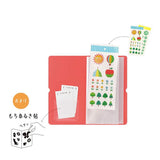 King Jim Seal Collection for Sticker Sheets - Light Blue - Small Storage & Organisers - bunbougu.com.au