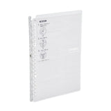 Kokuyo Campus Smart Ring Binder Notebook - B5 - 26 Rings - Clear