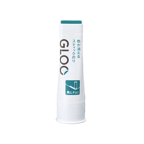 Kokuyo Gloo Glue Stick - Disappearing Blue - Medium - Glue - bunbougu.com.au