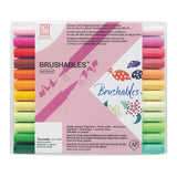 Kuretake Zig Brushables Brush Marker Pen - 24 Color Set - Brush Pens - bunbougu.com.au