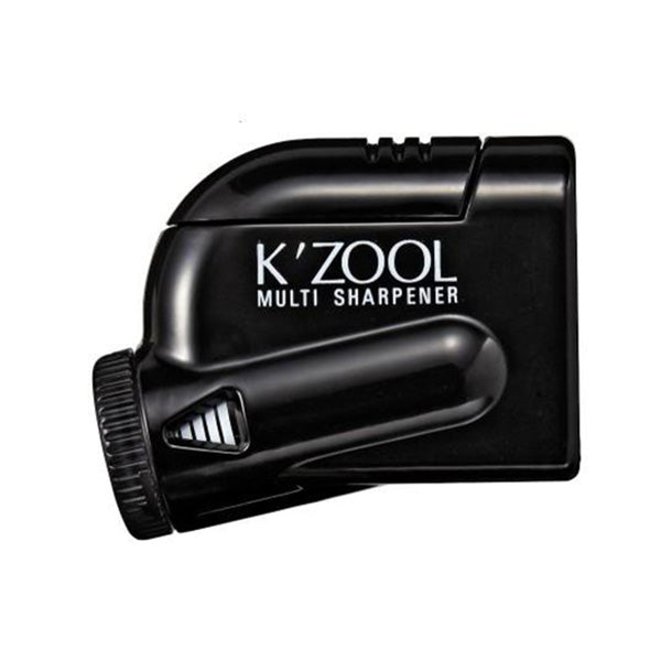 Kutsuwa Kezuru K'Zool 5 Stage Pencil Sharpener - Black - Pencil Sharpener - bunbougu.com.au