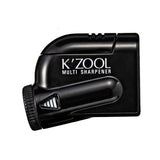 Kutsuwa Kezuru K'Zool 5 Stage Pencil Sharpener - Black - Pencil Sharpeners - bunbougu.com.au