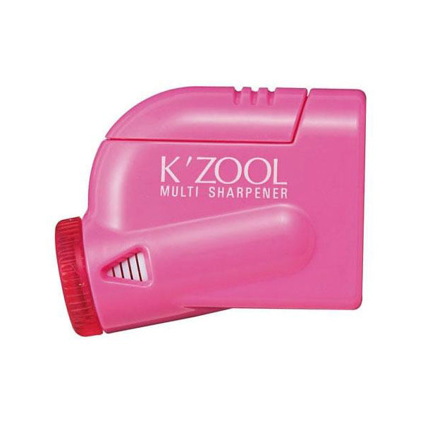 Kutsuwa Kezuru K'Zool 5 Stage Pencil Sharpener - Pink