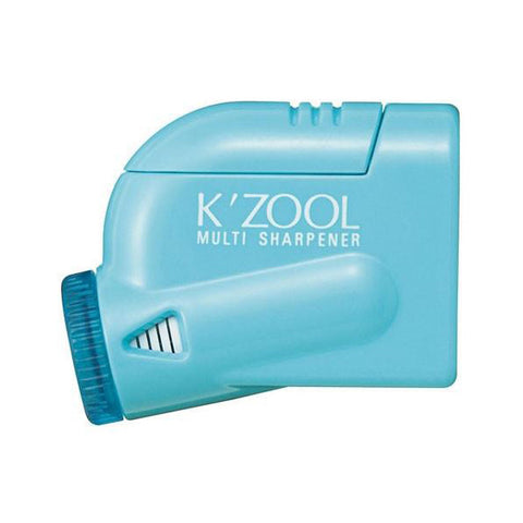 Kutsuwa Kezuru K'Zool 5 Stage Pencil Sharpener - Sky Blue - Pencil Sharpener - bunbougu.com.au