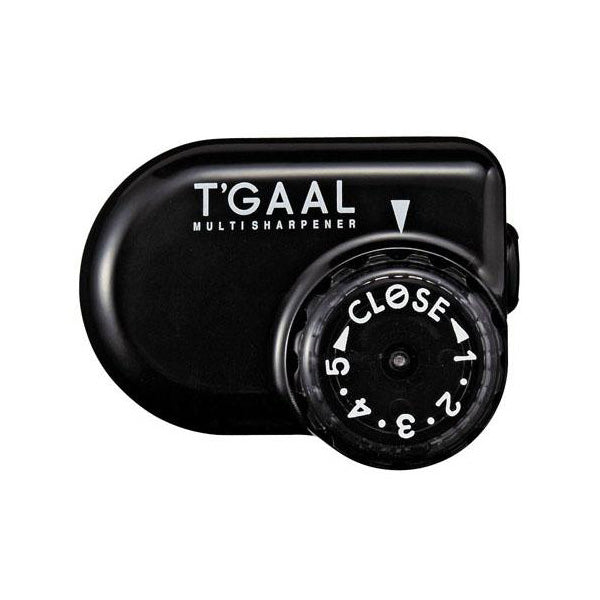 Kutsuwa Stad T'Gaal Pencil Sharpener - Black - Pencil Sharpener - bunbougu.com.au