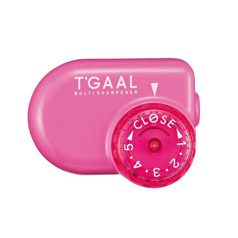 Kutsuwa Stad T'Gaal Pencil Sharpener - Pink - Pencil Sharpener - bunbougu.com.au