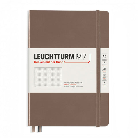 Leuchtturm1917 Medium Hardcover Notebook 2021 New Colour - Dotted - Warm Earth - A5