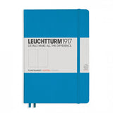 Leuchtturm1917 Medium Hardcover Notebook - Dotted - Azure - A5 - Notebooks - bunbougu.com.au