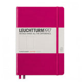 Leuchtturm1917 Medium Hardcover Notebook - Dotted - Berry - A5 - Notebook - bunbougu.com.au