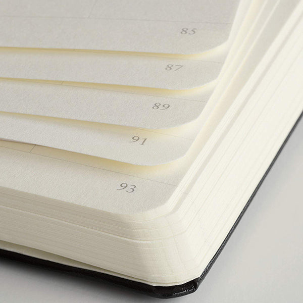 Leuchtturm1917 Medium Hardcover Notebook - Dotted - White - A5