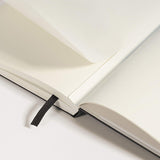 Leuchtturm1917 Medium Hardcover Notebook - Dotted - White - A5 - Notebooks - bunbougu.com.au