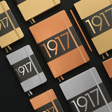 Leuchtturm1917 Metallic Limited Edition Hardcover Notebook - Ruled - Copper - A5 - Notebook - bunbougu.com.au