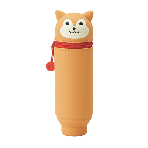 Lihit Lab Smart Fit Punilabo Stand Pencil Case - Shiba Inu Dog
