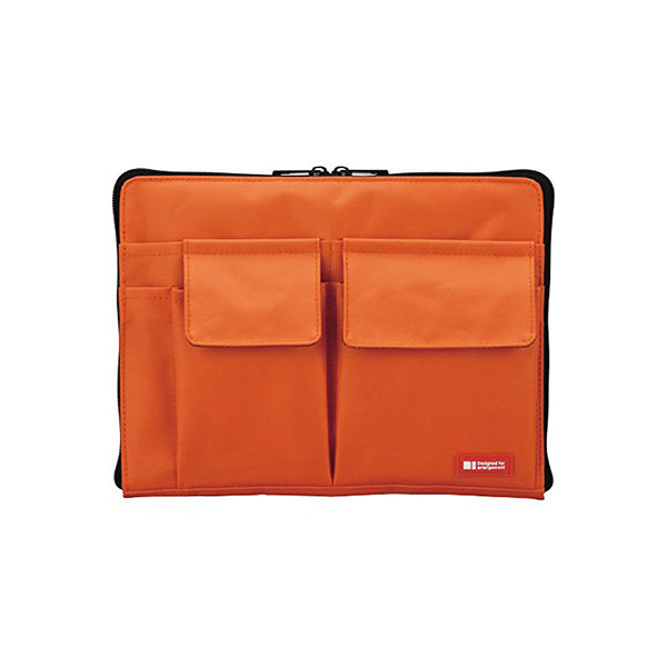 Lihit Lab Teffa Bag in Bag - A5 - Orange