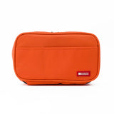 Lihit Lab Teffa Pen Case - Book Style - Orange - Pencil Case - bunbougu.com.au